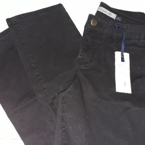 Christopher blue mid rise crop Jean's